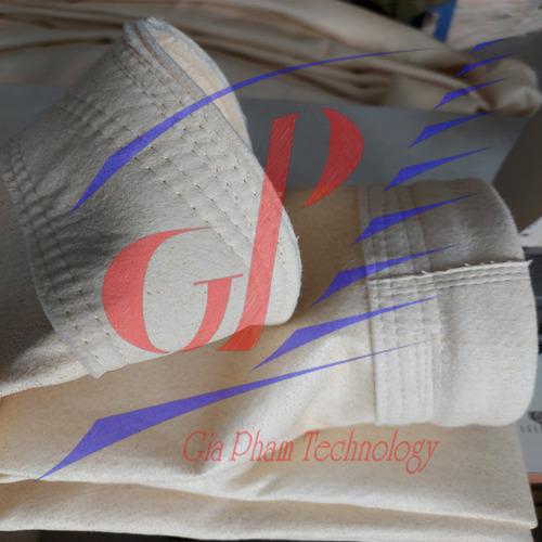 Túi Lọc Bụi Chịu Nhiệt Trạm Trộn Bê Tông Nhựa Nóng Nomex 550 AOG Japan - Hình 3