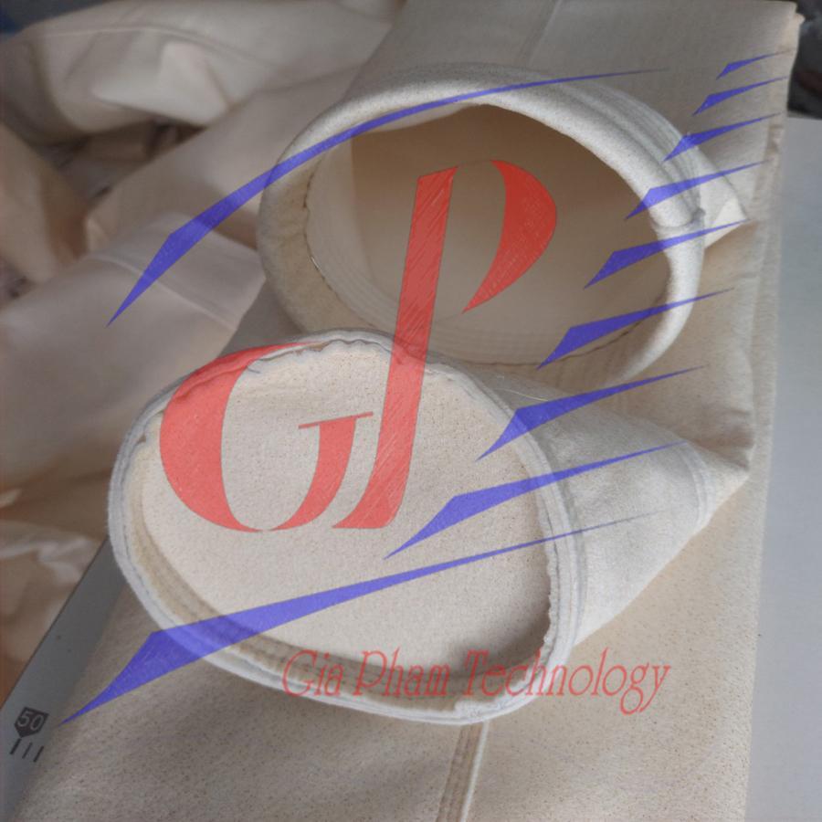 Túi lọc bụi chịu nhiệt vải nomex AOG